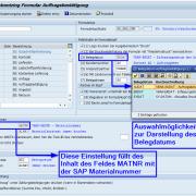 SAP Formular Auftragsbestätigung - Customizing