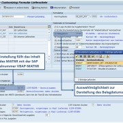 Customizing SAP Formular Lieferschein