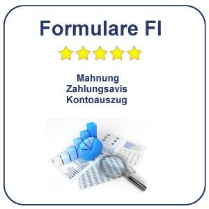 SAP FI Formulare