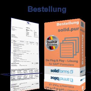 SAP Formular Bestellung