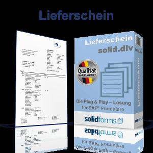 SAP Formular Lieferschein