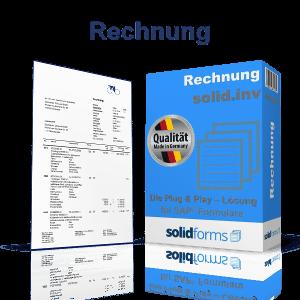 SAP Formular Rechnung