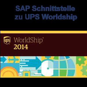 SAP Schnittstelle zu UPS Worldship