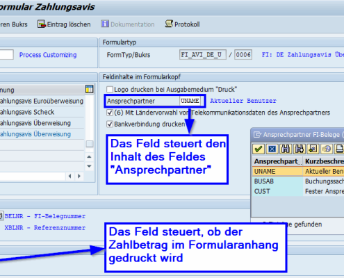 Customizing SAP Formular Zahlungsavis auf Basis der SAP Interactive Forms by Adobe