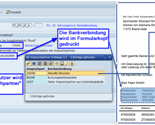 SAP Form Payment advice based on SAP Interactive Forms by Adobe