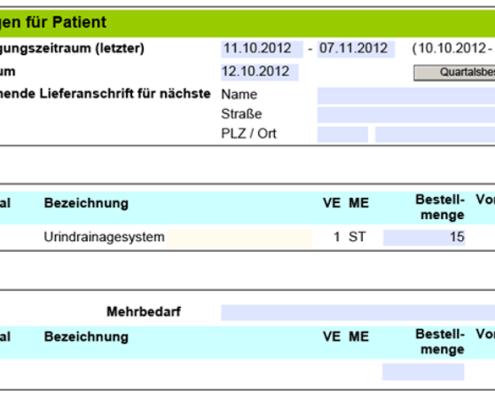 SAP Interactive Form by Adobe: Beispiel Einsatzbericht - Bestellungen