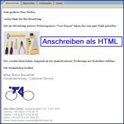 Email HTML Anschreiben mit Bildern für SAP Formulare zum optischen Hervorheben Ihrer Email Botschaft