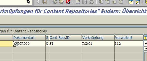 SAP Archive Link Verknuepfung BUS2005
