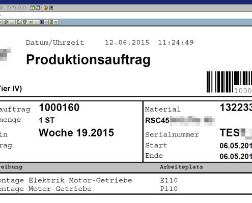 SAP Archivierung Formulare 4