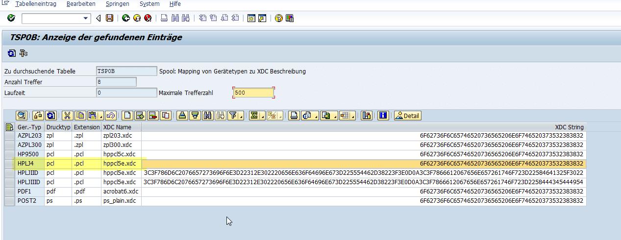 Schachtsteuerung SAP Adobe Forms Geraetetyp