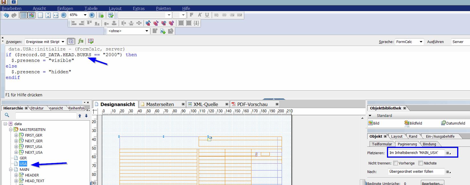 Adobe Forms programmed page break 8