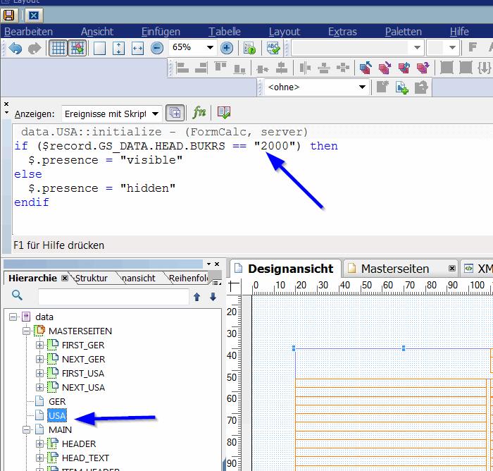 Adobe Forms programmgesteuerter Seitenumbruch