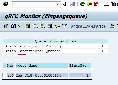 SAP qRFC