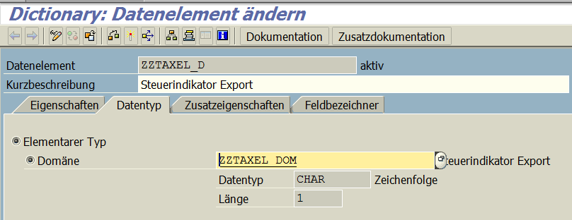 Datenelement ZZTAXEL_D