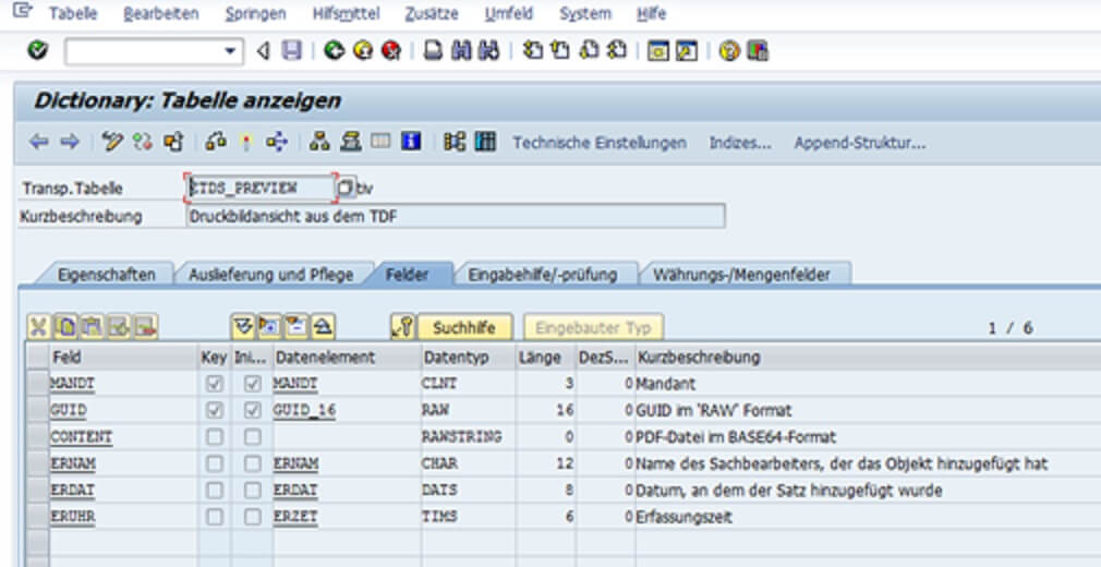 Create print preview in SAP from an external OMS | solidforms