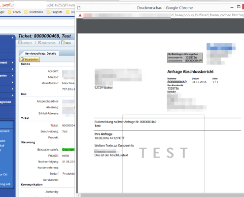 SAP CRM Adobe Form 8