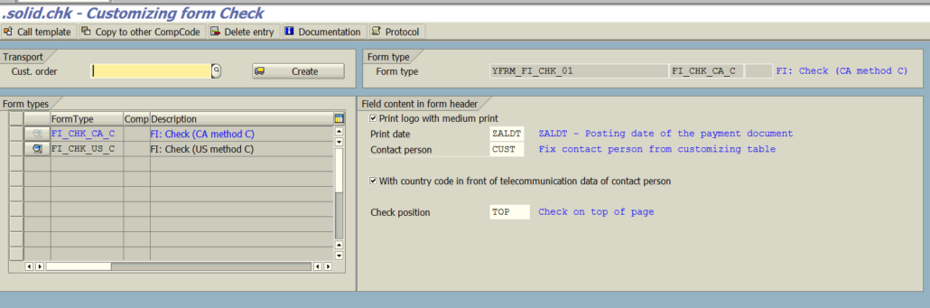 SAP Formular Check at a fixed price   solidforms