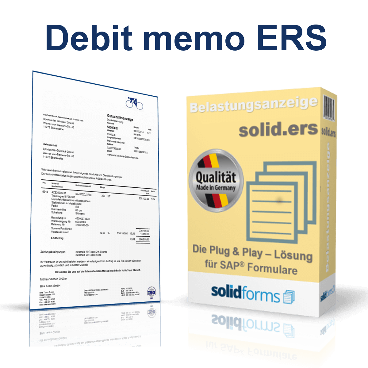 sap form Sap partnered with zebra to provide bar coding functionality so users can work in their smart forms environment to meet all document & label design needs.