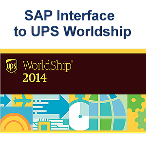 SAP Interface toUPS Worldship